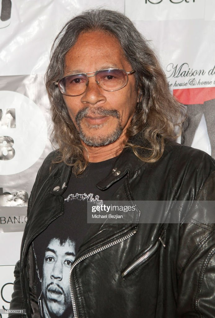 Leon Hendrix attends Celebrity Fashion Designer Maggie Barry Street Launch Party For 'M8' at La Maison de Fashion on May 8, 2013 in Hollywood, California.