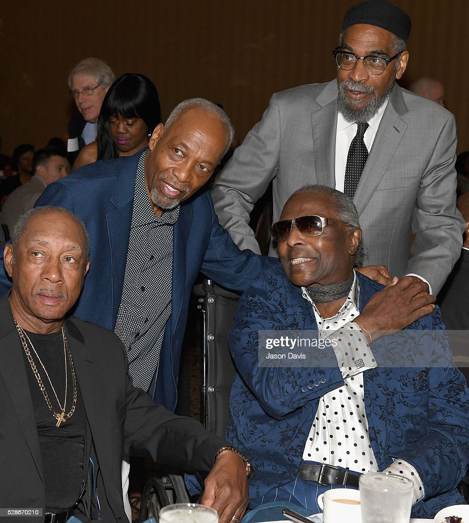 <a gi-track='captionPersonalityLinkClicked' href=/galleries/search?phrase=Leon+Huff&family=editorial&specificpeople=615842 ng-click='$event.stopPropagation()'>Leon Huff</a> and Kenneth Gamble of musical group Gamble and Huff with musical legend <a gi-track='captionPersonalityLinkClicked' href=/galleries/search?phrase=Little+Richard&family=editorial&specificpeople=85735 ng-click='$event.stopPropagation()'>Little Richard</a> during NMAAM's Celebration Of Legends Red Carpet And Luncheon on May 6, 2016 in Nashville, Tennessee.