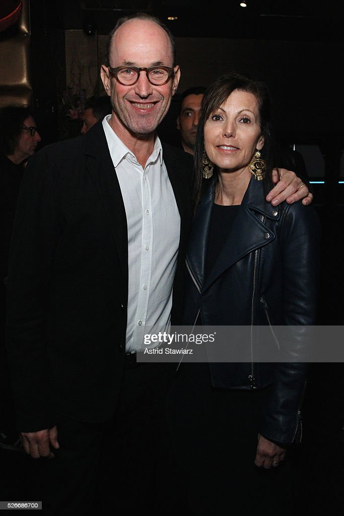 Leon Kalvaria and Barbara Kalvaria attend an exclusive event with DuJour's Jason Binn and Nicole Vecchiarelli to celebrate the 'Steven Tyler...Out On A Limb' charity show benefitting Janie's Fund at LAVO on April 30, 2016 in New York City.