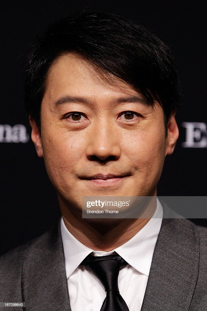 Leon Lai arrives at the Royal Hall of Industries, Moore Park on April 23, 2013 in Sydney, Australia.