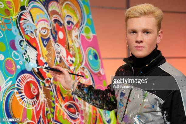 Leon Loewentraut attends the 22nd RTL Telethon on November 23 2017 in Huerth Germany