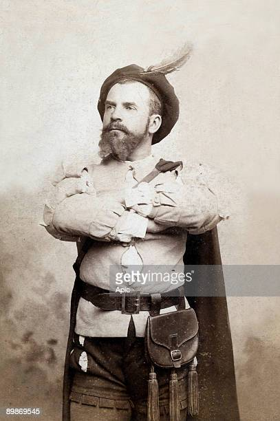 Leon Melchissedec french baritone as William Tell photo by Benque and Cie Paris