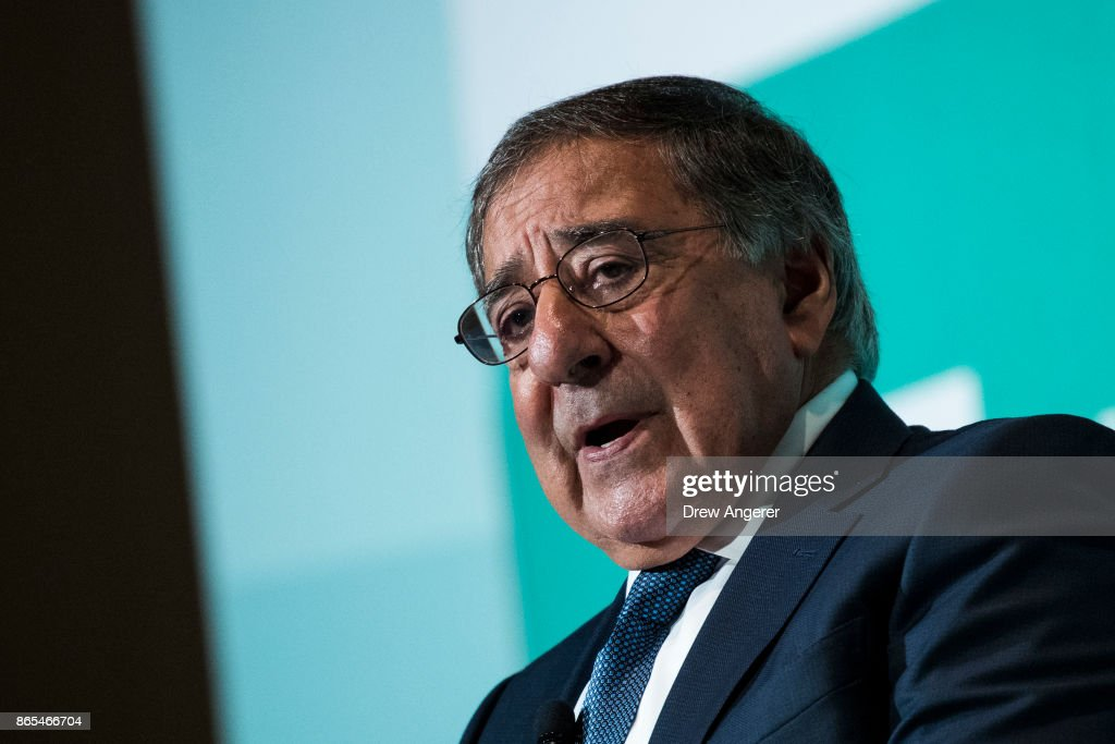Steve Bannon, Leon Panetta And David Petraeus Attend Conf. On Violent Extremism