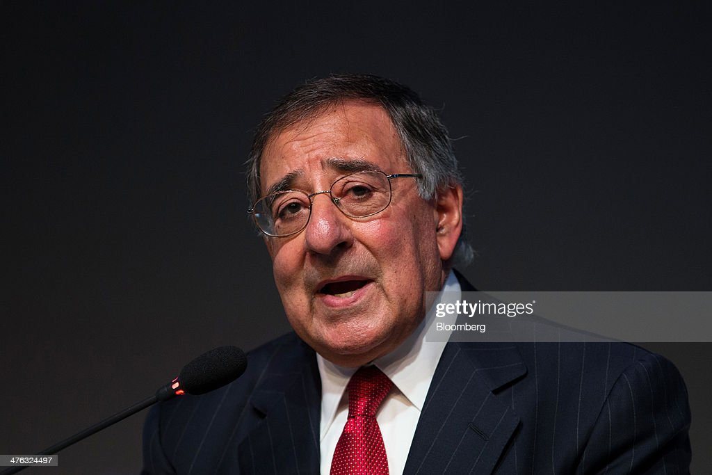 Leon Panetta, former U.S. secretary of defense, speaks at the Asian Leadership Conference (ALC) in Seoul, South Korea, on Monday, March 3, 2014. The conference runs from March 3-4. Photographer: SeongJoon Cho/Bloomberg via Getty Images