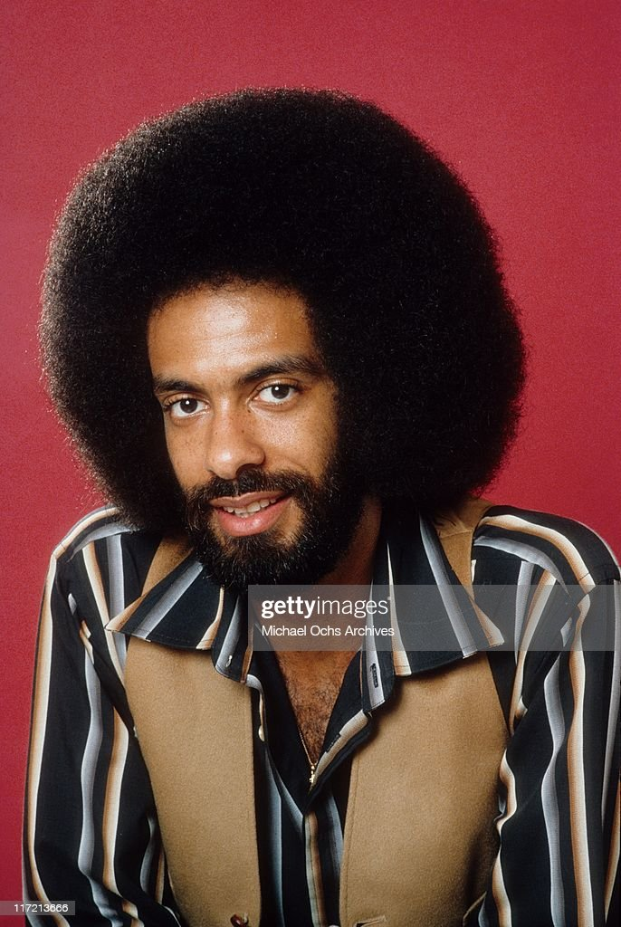 Leon Sylvers of the R and B group The Sylvers and Dynasty poses for a portrait circa 1981 in Los Angeles, California.