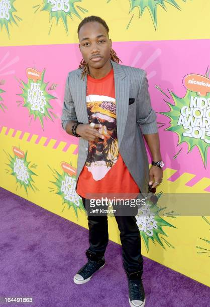 Leon Thomas III arrives at Nickelodeon's 26th Annual Kids' Choice Awards at USC Galen Center on March 23 2013 in Los Angeles California
