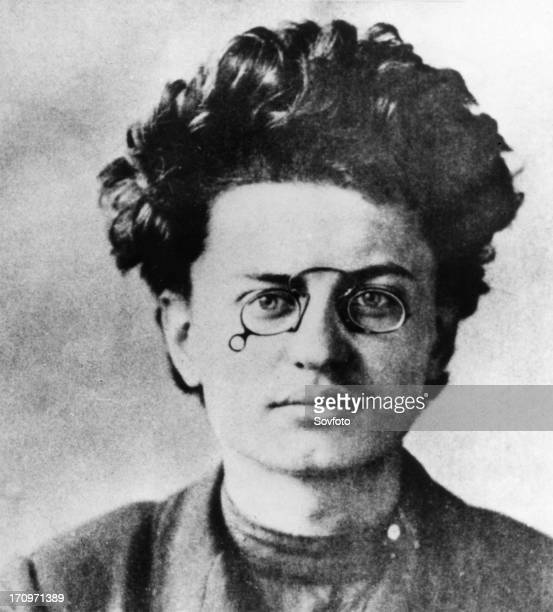 Leon trotsky 18791940 soviet revolutionary as a young man before the russian revolution