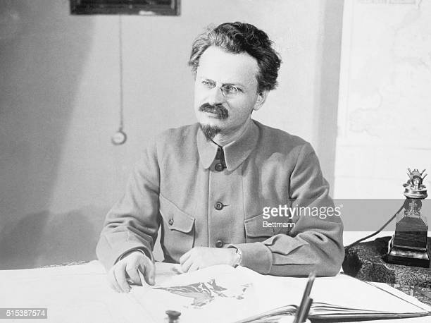Leon Trotsky Original Lev Davidsovich Bronstein Russian Communist leader