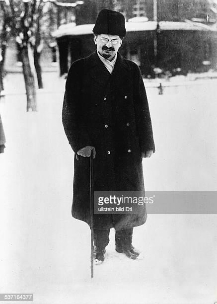 Leon TrotskyLeo Trotzki Politiker UdSSR Porträt nach seiner Ausweisung aus der Sowjetunion im Jahre 1929