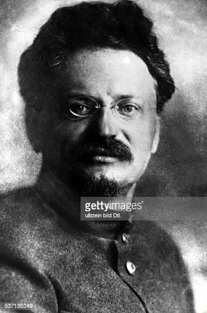 Leon TrotskyLeo Trotzki Politiker UdSSR Porträt um 1917