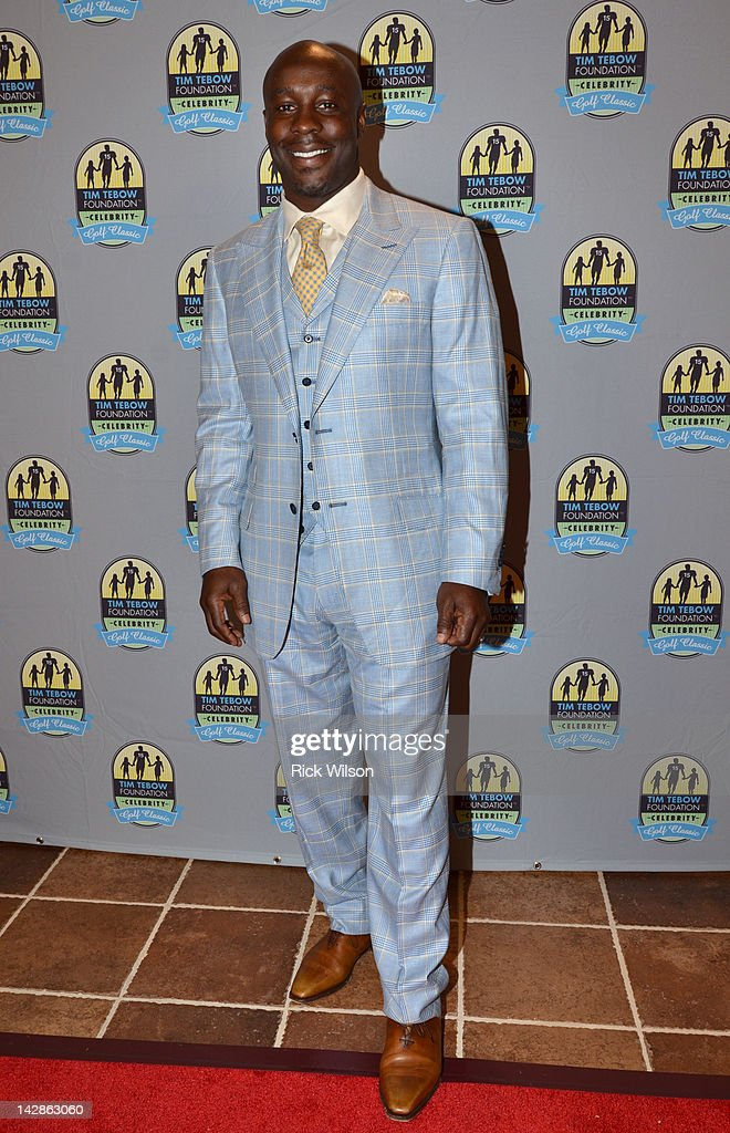 Leon Washington attends the Tim Tebow Foundation Celebrity Golf Classic Gala at TPC Sawgrass on April 13 2012 in Ponte Vedra Beach Florida