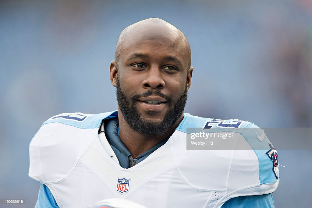 Leon Washington of the Tennessee Titans warming up before a game against the New York Jets at LP Field on December 14 2014 in Nashville Tennessee The...