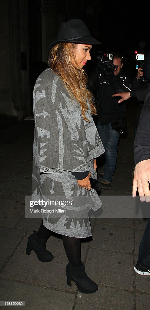 Leona Lewis at Mahiki night club on May 8, 2013 in London, England.