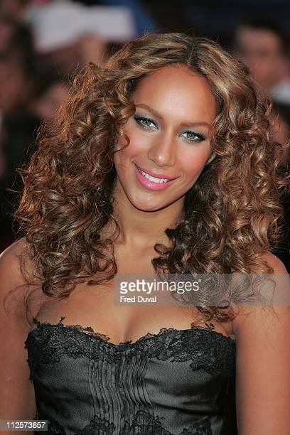 Leona Lewis attends the Brit Awards held at Earls Court on February 20 2008 in London England