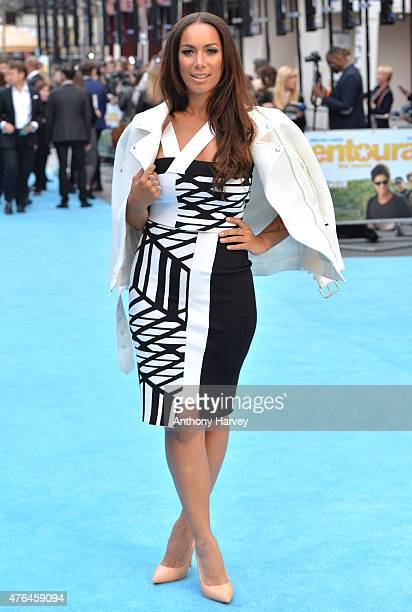 Leona Lewis attends the European Premiere of 'Entourage' at Vue West End on June 9 2015 in London England