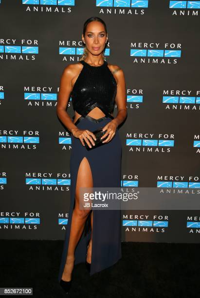 Leona Lewis attends the Mercy For Animals' Annual Hidden Heroes Gala on September 23 2017 in Los Angeles California