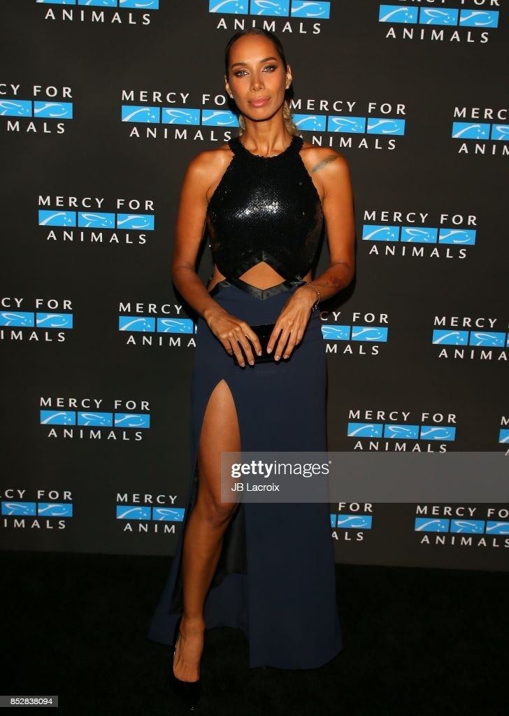 Leona Lewis attends the Mercy For Animals' Annual Hidden Heroes Gala on September 23, 2017 in Los Angeles, California.