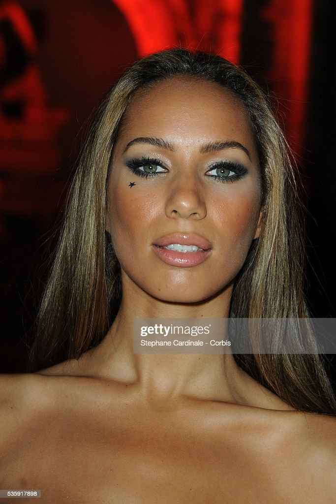 Leona Lewis attends the Roberto Cavalli Celebrate 40 Party at 'Les Beaux-Arts' in Paris.