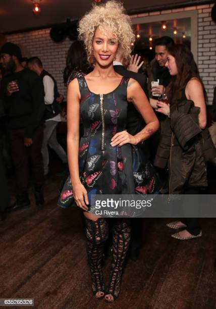Leona Lewis attends Wilhelmina party on February 13 2017 in New York City