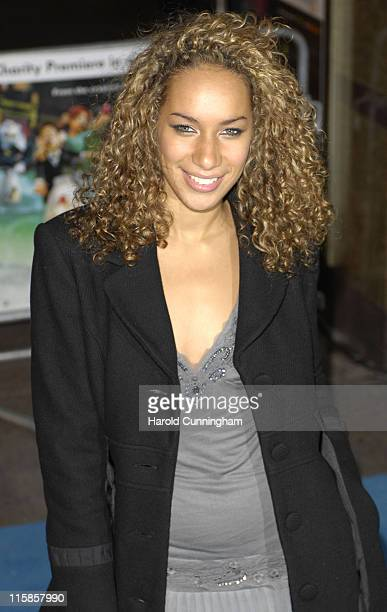 Leona Lewis during 'Flushed Away' London Premiere Arrivals at Empire Leicester Square in London Great Britain