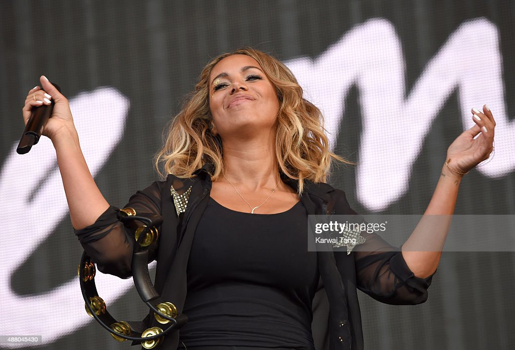 Leona Lewis performs at the BBC Radio 2 Live In Hyde Park Concert at Hyde Park on September 13, 2015 in London, England.