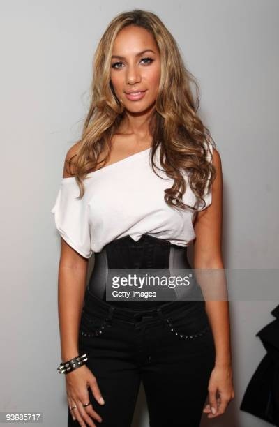 Leona Lewis performs live for BBC Radio 2 held at broadcasting House on December 3 2009 in London England