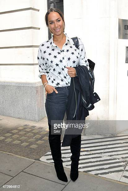 Leona Lewis sighted at the BBC Radio 2 on May 11 2015 in London England