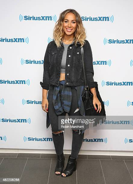 Leona Lewis visits at SiriusXM Studios on July 28 2015 in New York City