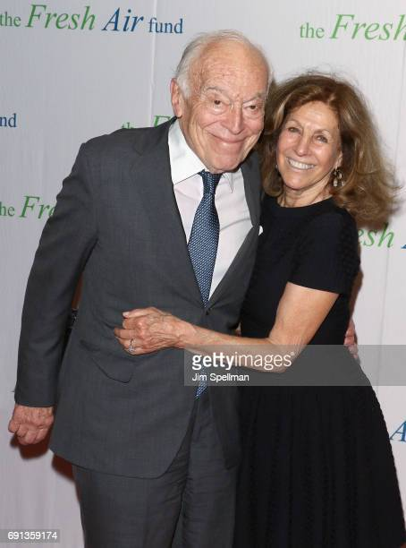 Leonard A Lauder and Judy Glickman Lauder attend the 2017 Fresh Air Fund Spring Benefit at Pier Sixty at Chelsea Piers on June 1 2017 in New York City