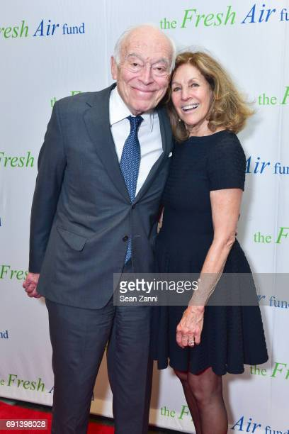 Leonard A Lauder and Judy Glickman Lauder attend The Fresh Air Fund's Spring Benefit 2017 at Pier Sixty Chelsea Piers on June 1 2017 in New York City