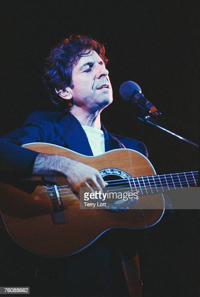 Leonard Cohen live at Hammersmith Odeon London