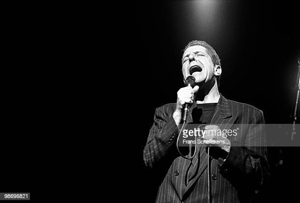 Leonard Cohen performs live at Het Muziektheater in Amsterdam Netherlands on April 18 1988