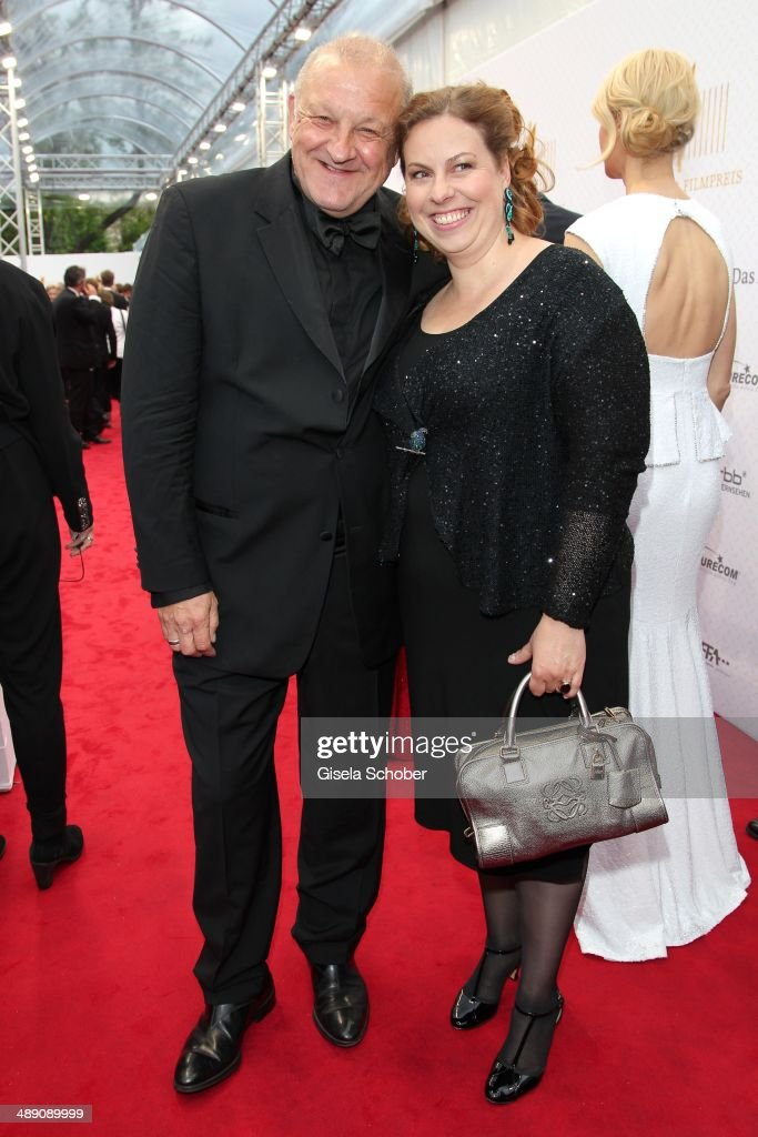 Leonard Lansink and his wife Maren Lansink attend the Lola - German Film Award 2014 at Tempodrom on May 9, 2014 in Berlin, Germany.