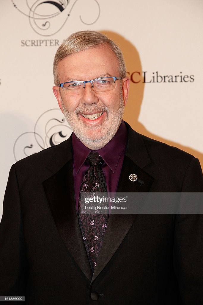 <a gi-track='captionPersonalityLinkClicked' href=/galleries/search?phrase=Leonard+Maltin&family=editorial&specificpeople=208242 ng-click='$event.stopPropagation()'>Leonard Maltin</a> attends The USC Libaries Twenty-Fifth Anuual Scripter Awards at USC Campus, Doheney Library on February 9, 2013 in Los Angeles, California.