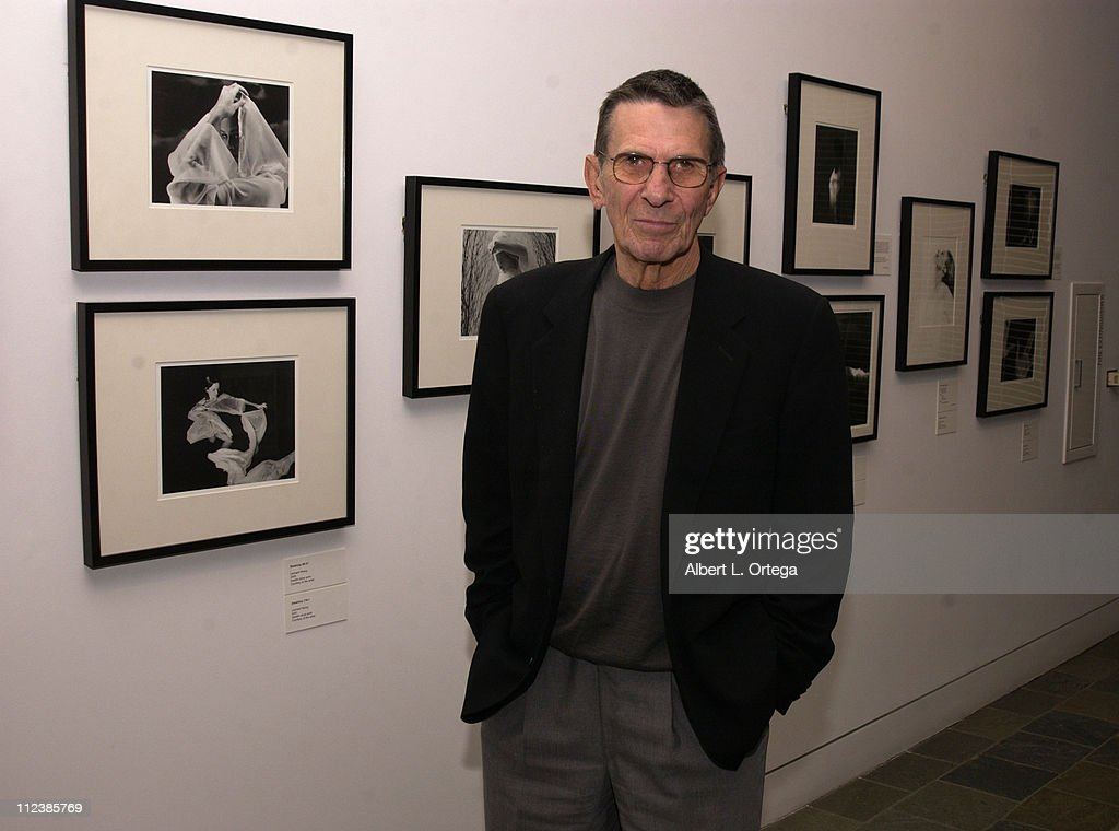 "A Conversation and Exhibit of Leonard Nimoy's ""Shekhina"""