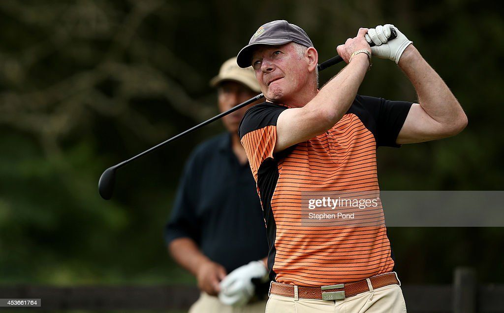 Leonard Owens during day one of the PGA Super 60's Tournament at Thorpeness Hotel and Golf Club on August 15, 2014 in Thorpeness, England.
