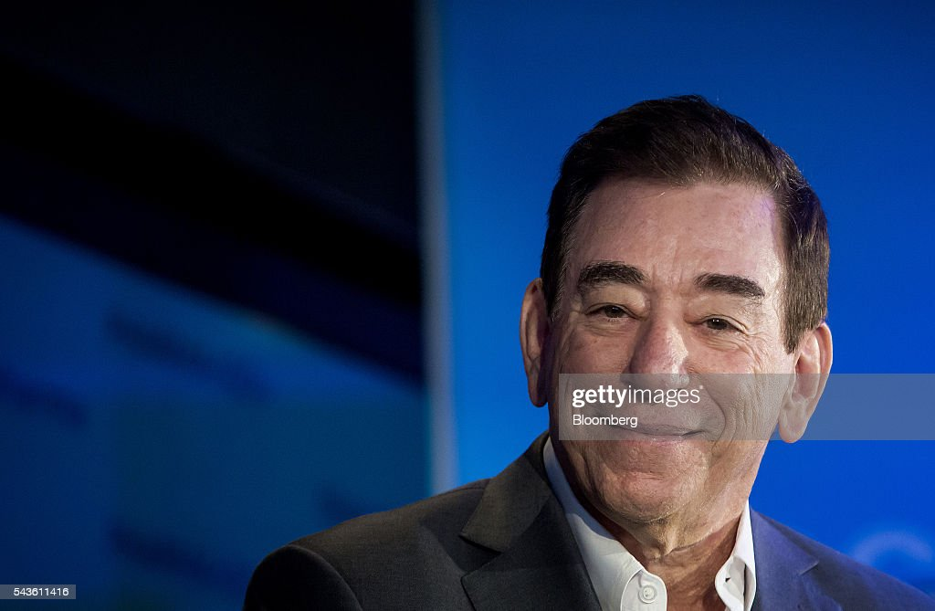 Leonard S. Schleifer, president and chief executive officer of Regeneron Pharmaceuticals Inc., listens during the Bloomberg 'Focus on Pharma' event in New York, U.S., on Wednesday, June 29, 2016. Schleifer discussed the need for the pharmaceutical industry to do a better job explaining the value proposition of products they bring out and the need to price drugs at a more reasonable rate. Photographer: Eric Thayer/Bloomberg via Getty Images
