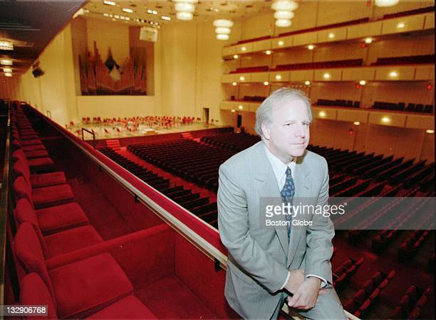 Leonard Slatkin is shown at Kennedy Center in Washington on March 28 after being named music director of the National Symphony Slatkin had been music...
