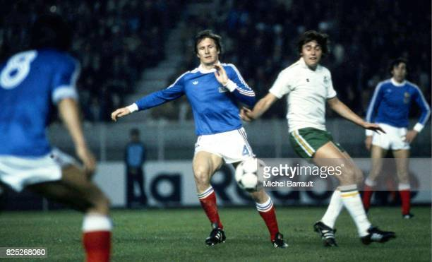Leonard SPECHT France / Eire Match de qualification Coupe du monde 1982