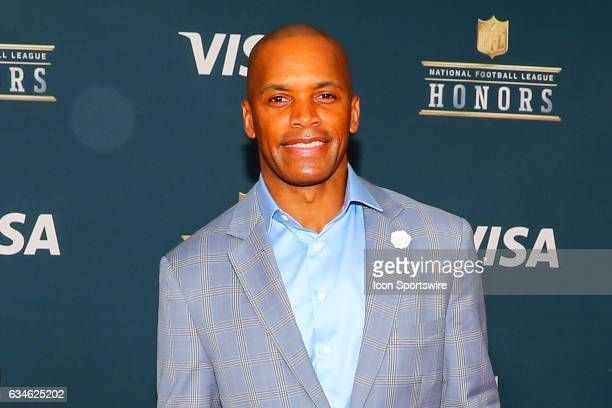 Leonard Wheeler on the Red Carpet at the 2017 NFL Honors on February 04 at the Wortham Theater Center in Houston Texas