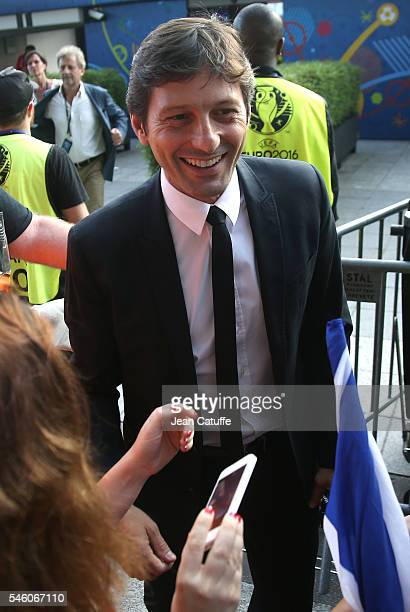 Leonardo Araujo attends the UEFA Euro 2016 final match between Portugal and France at Stade de France on July 10 2016 in SaintDenis near Paris France