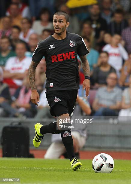 Leonardo Bittencourt of FC Koeln in action during the preseason friendly match between Fortuna Koeln and 1 FC Koeln at Sued Stadion on July 26 2016...