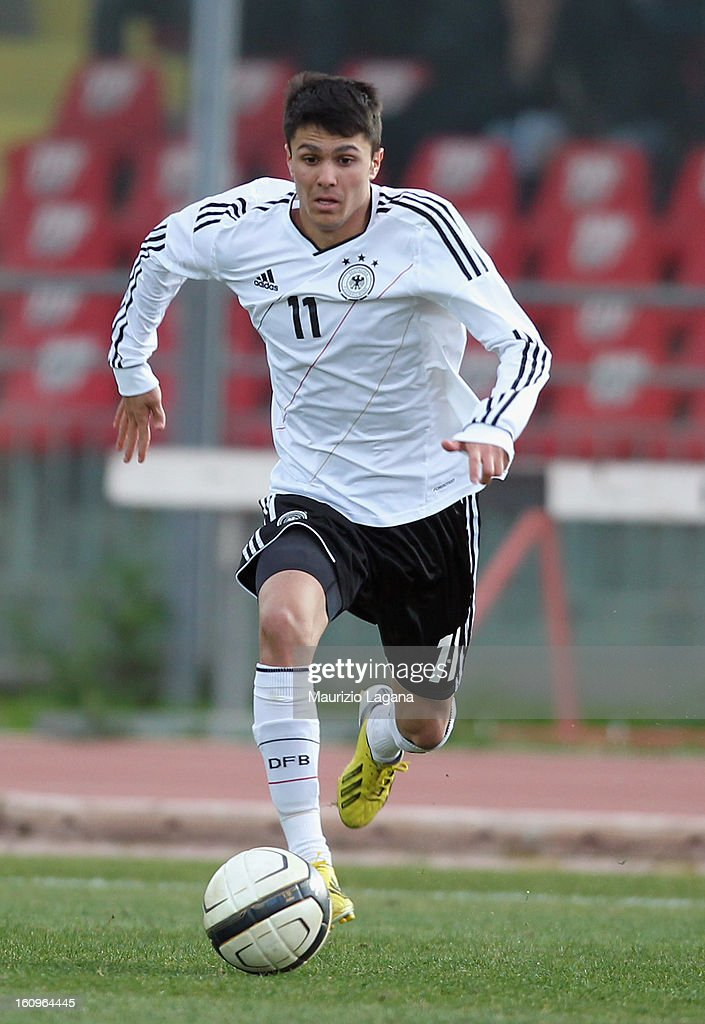 Leonardo Bittencuort of Germany during U20 International Friendly match between Italy and Germany at Stadio Cosimo Puttilli on February 6, 2013 in Barletta, Italy.