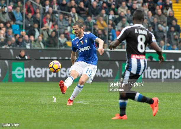 Leonardo Bonucci during Serie A match between Udinese v Juventus in Udine on March 25 2017