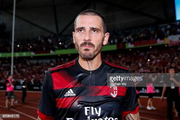 Leonardo Bonucci of AC Milan after the 2017 International Champions Cup China match between FC Bayern and AC Milan at Universiade Sports Centre...