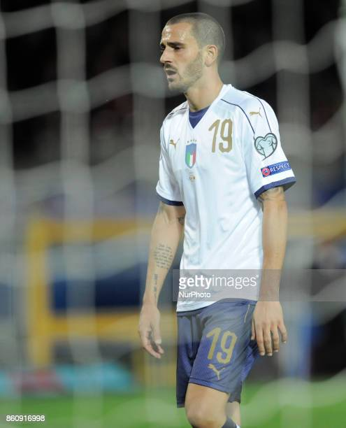 Leonardo Bonucci of Italy player during the match valid for the Qualifying Round of Fifa World Cup Russia 2018 between Italy Macedonia at Olympic...