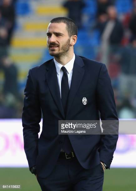 Leonardo Bonucci of Juventus after the Serie A match between FC Crotone and Juventus FC at Stadio Comunale Ezio Scida on February 8 2017 in Crotone...