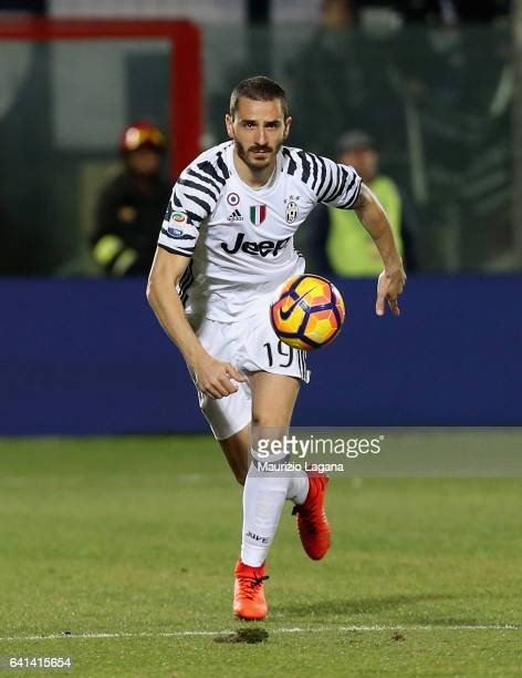 Leonardo Bonucci of Juventus during the Serie A match between FC Crotone and Juventus FC at Stadio Comunale Ezio Scida on February 8 2017 in Crotone...