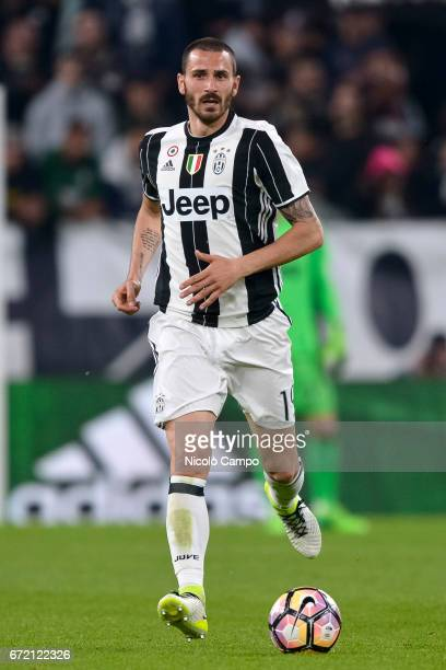 Leonardo Bonucci of Juventus FC in action during the Serie A football match between Juventus FC and Genoa CFC Juventus FC wins 40 over Genoa CFC