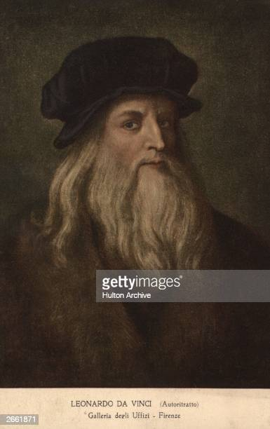Leonardo da Vinci Italian painter sculptor architect engineer and inventor circa 1500